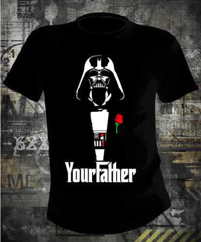 Футболка Star Wars Your Father