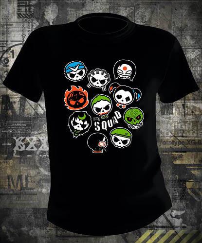 Футболка Suicide Squad The Crazy Squad