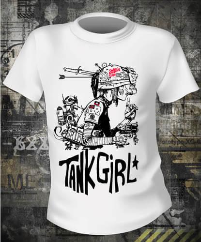 Футболка Tank Girl