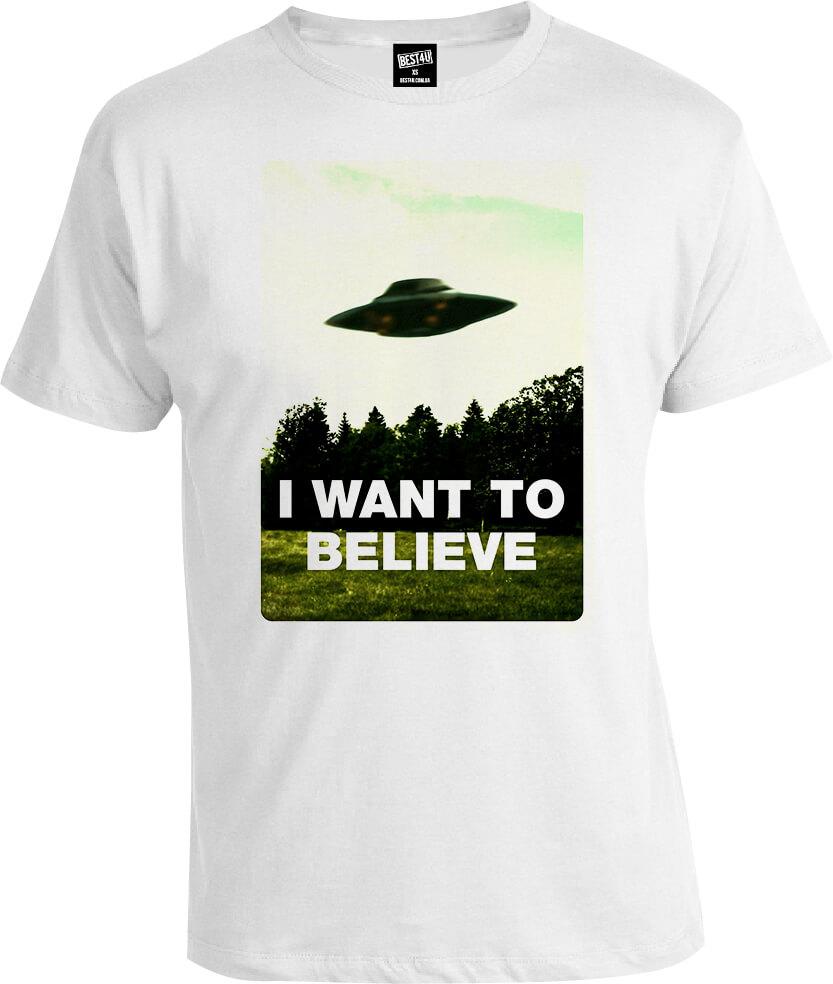 Футболка The X-Files I Want to Believe