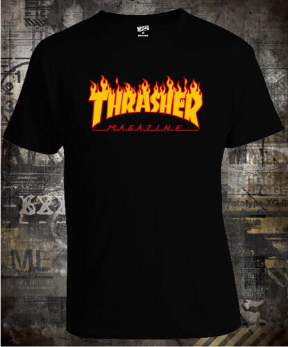 172f681e Футболка Thrasher Magazine Fire Logo. Купить футболки Thrasher ...