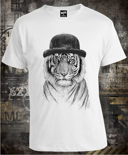 Футболка Tiger in the Hat
