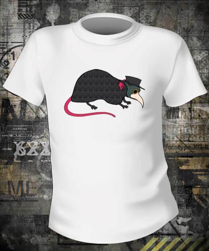 Футболка Крыса