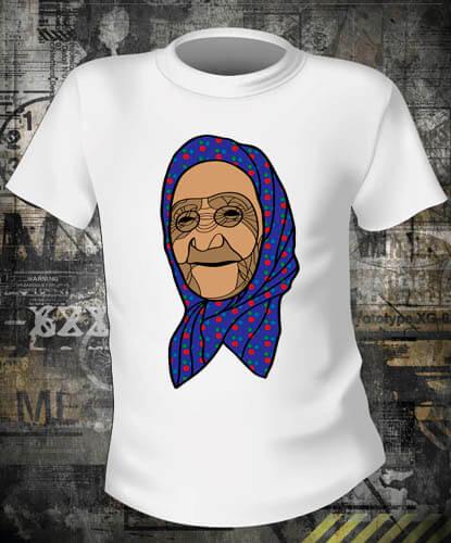 Футболка Бабушка