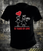 Футболка 15 Years Of Love