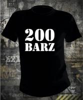 Футболка 200 barz (Guf)