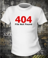 Футболка 404 File Not Found