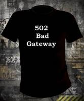 Футболка 502 Bad Gateway