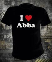 Футболка ABBA I Love