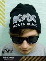 Футболка Шапка AC/DC Back In Black