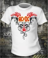 Футболка AC/DC Devils White