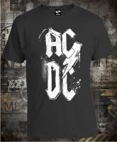 Футболка AC/DC Dirty Logo Grey