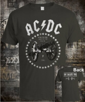 Футболка AC/DC For Those About To Rock Grey