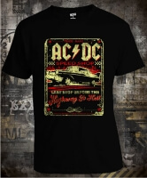 Футболка AC/DC Highway To Hell Car