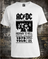 Футболка AC/DC Highway To Hell 1979 Tour муж XL