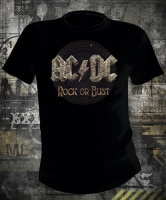 Футболка AC/DC Rock Or Bust