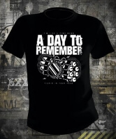 Футболка A Day To Remember Tickin In Your Head