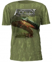 Футболка Accept Too Mean to Die Full Print