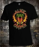 Alice Cooper Snake Flames