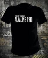 Футболка Alkaline Trio From Here to Infirmary