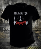 Футболка Alkaline Trio Top Hat муж М