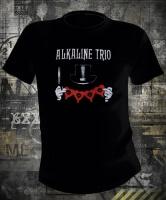 Футболка Alkaline Trio Top Hat муж М