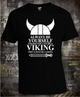 Футболка Always be Yourself Viking