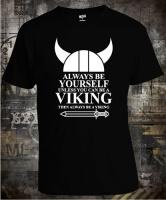 Футболка Always be Yourself Viking