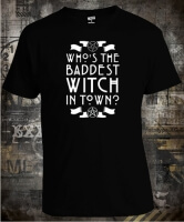 Футболка American Horror Story Who the Baddest Witch