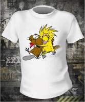 Футболка Angry Beavers