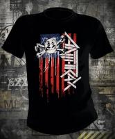 Футболка Anthrax Not Man Flag