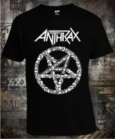 Футболка Anthrax Skull Pentagram