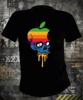 Футболка Apple Skull