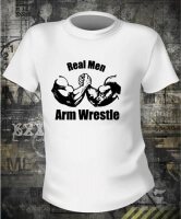 Футболка Arm Wrestle Real Men