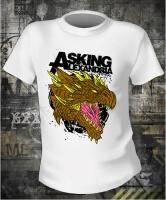 Футболка Asking Alexandria Dragon Color