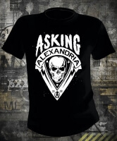 Asking Alexandria Skull Shield