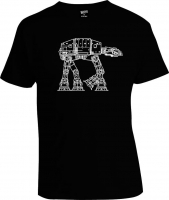 Футболка At-At Outlines