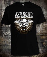 Футболка Avenged Sevenfold Three Skulls