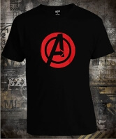 Футболка Avengers Black Widow Logo