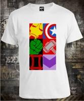Футболка Avengers Cropped