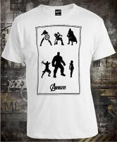 Футболка Avengers Silhouettes