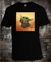 Футболка Baby Yoda Star Wars Art
