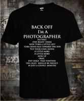 Футболка Back Off I'm A Photographer