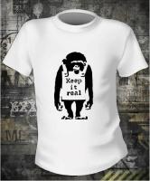 Футболка Banksy Monkey муж S