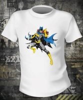Футболка Batgirl Distressed