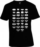 Футболка Batman Logo Evolution