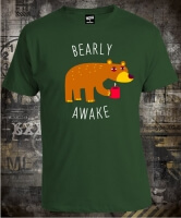 Футболка Bearly Awake