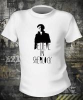 Футболка Believe in Sherlock