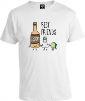 Футболка Best Friends Tequila Salt Lime жен М