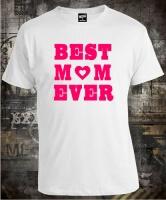 Футболка Best Mom Ever муж S